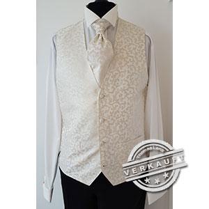 Thomas Lenz Seconhand Hochzeitsanzug - Weste -Masterhand